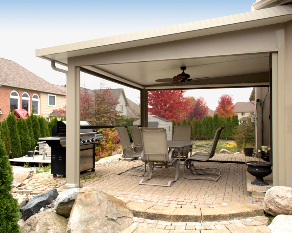 St. Thomas Patio Covers Rochester | Pro Home and Sunrooms on Backyard Patio Cover Ideas  id=61748