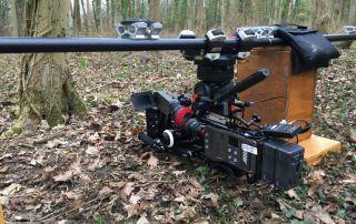 Professional cameraman Jamie Hobbis about his tango camera slider