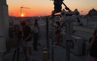 Prosup tango slider in action in spain filming Mi Vida starring Loes Luca
