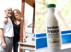 Alessandro y Ángeles están muy contentos por haber construido su propio negocio