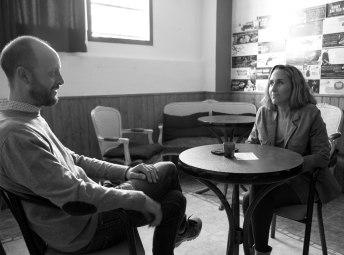 Andrés y Ana durante la entrevista de Ocio Magazine