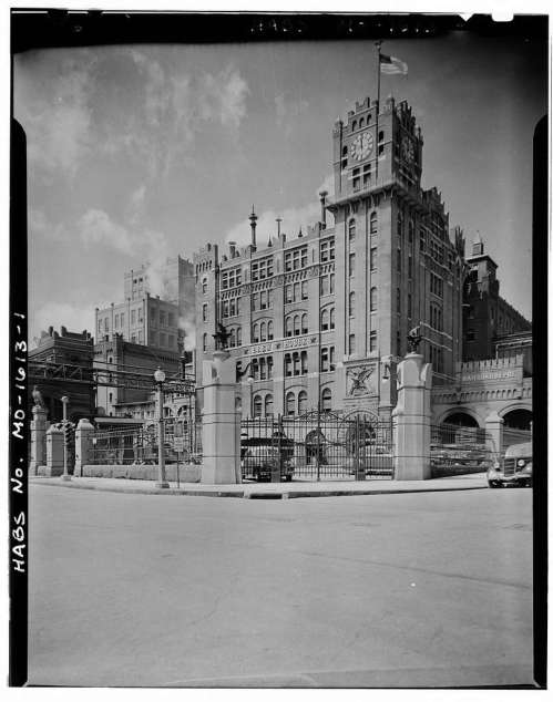 The old Busch brewery.