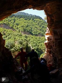 """Η είσοδος του """"Γκούβα Μάρε"""", 1η εξερεύνηση"""