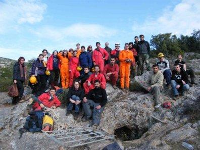 Σπήλαιο Νυχτερίδων, 1ο Σεμινάριο Σπηλαιολογίας Α' Βαθμού Μάρτιος