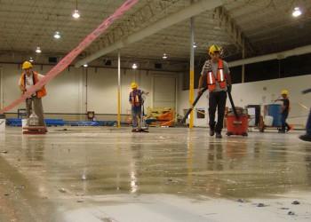 Limpieza suelos industriales