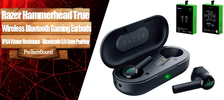 Razer Hammerhead - Over All Best True Wireless Gaming Earbuds