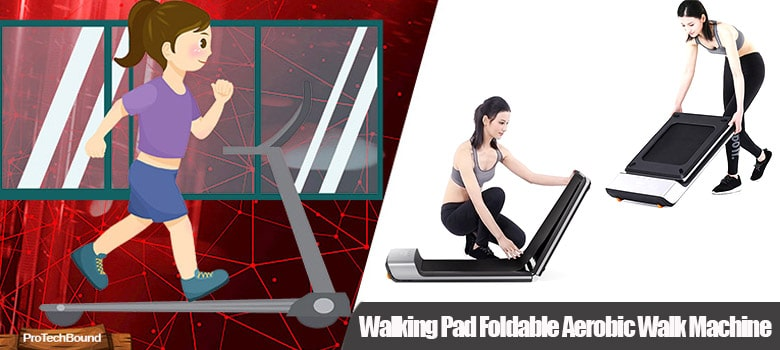 Walking Pad Foldable Aerobic -Best Compact Treadmills for Small Spaces