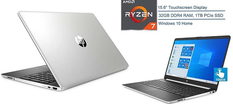 best 15.6 inch touch screen laptop with 32gb ram