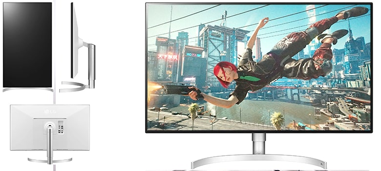 LG 32UL950-W Class Ultrafine - Overall Best 4K Gaming Monitor
