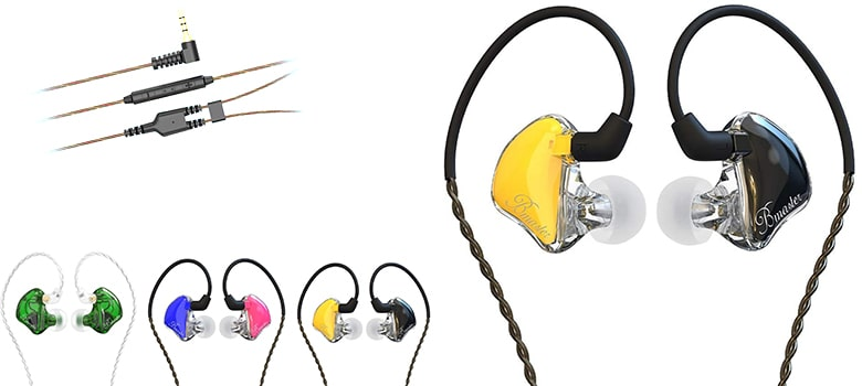 best in ear monitor headphones for singers and music production