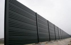 Product Gallery | Acoustic Barriers | Absorptive Acoustic Barrier