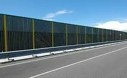 Product Gallery | Acoustic Barriers | timber absorbent noise barriers