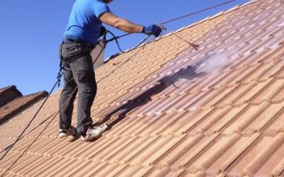 Hydrofugation de toiture à Champagné