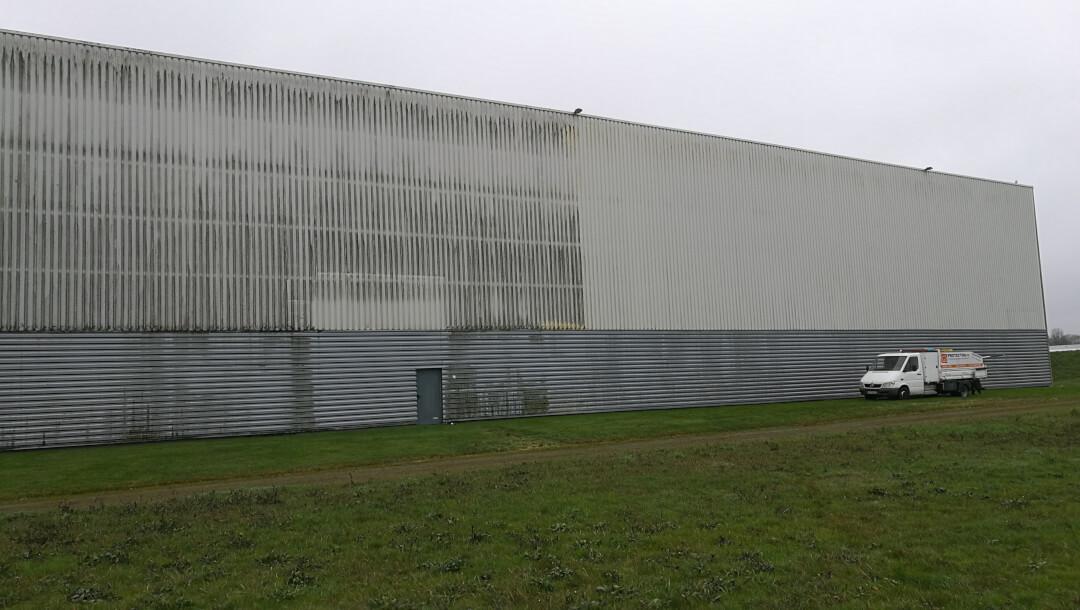 Rénovation du bâtiment ID Logistic d'Angers