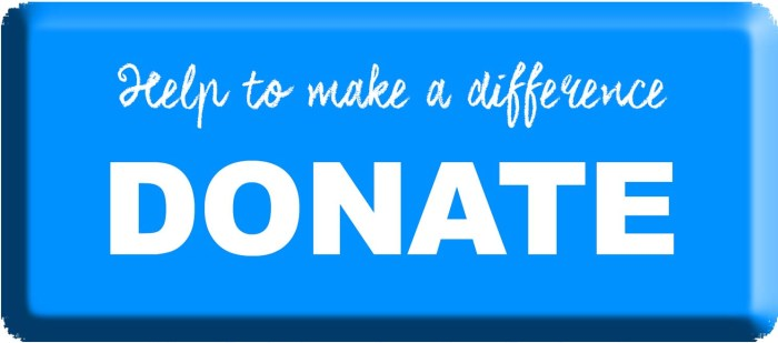 Help make a difference by donating now!