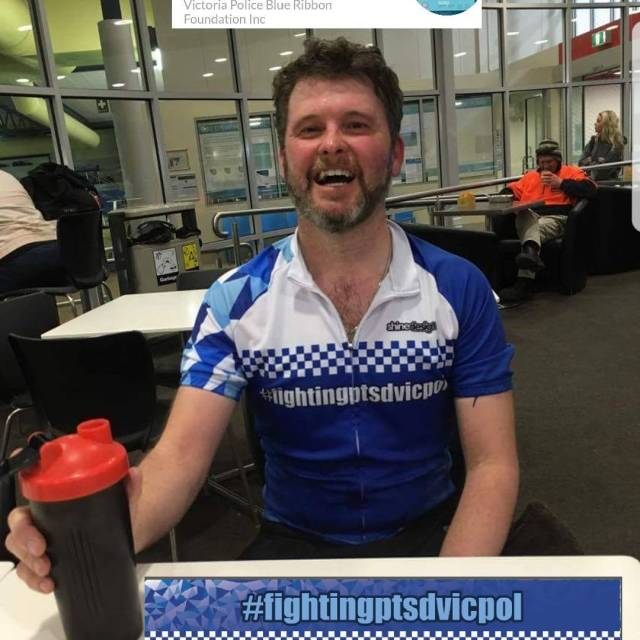 Another proud supporter of my fightingptsdvicpol campaign spreading awareness forhellip