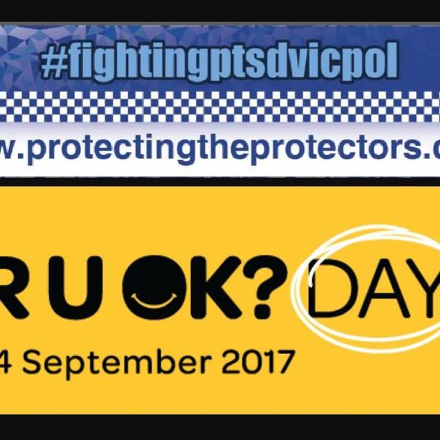 Today is National RUOK day 14th September 2017 My fightingptsdvicpolhellip