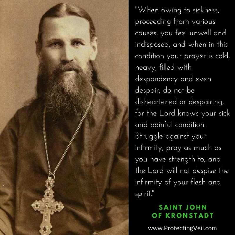Saint John of Kronstadt, On Perseverance in Prayer