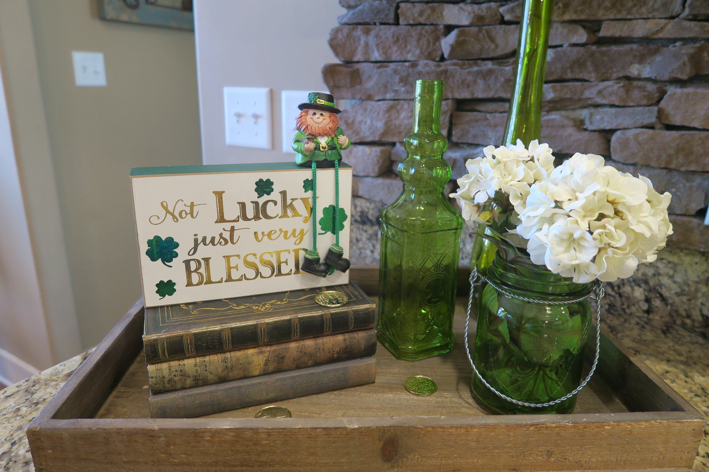 Easy Vignette for St. Patrick's Day
