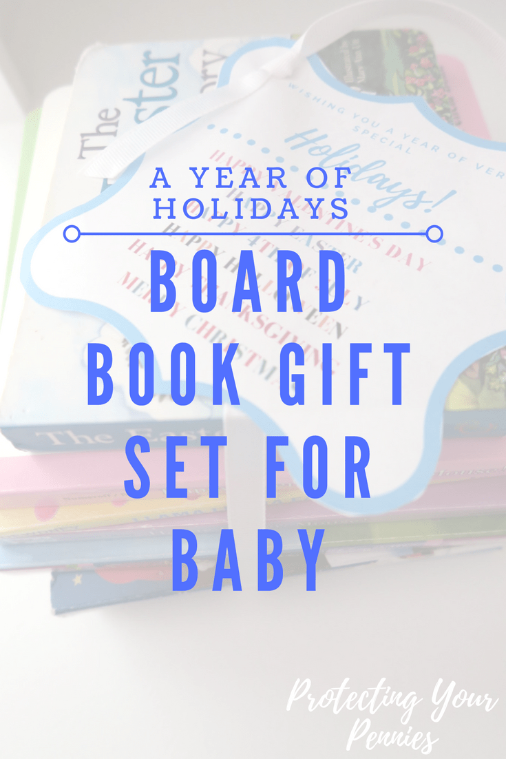 Holiday Board Book Gift Set for Gender Neutral Shower