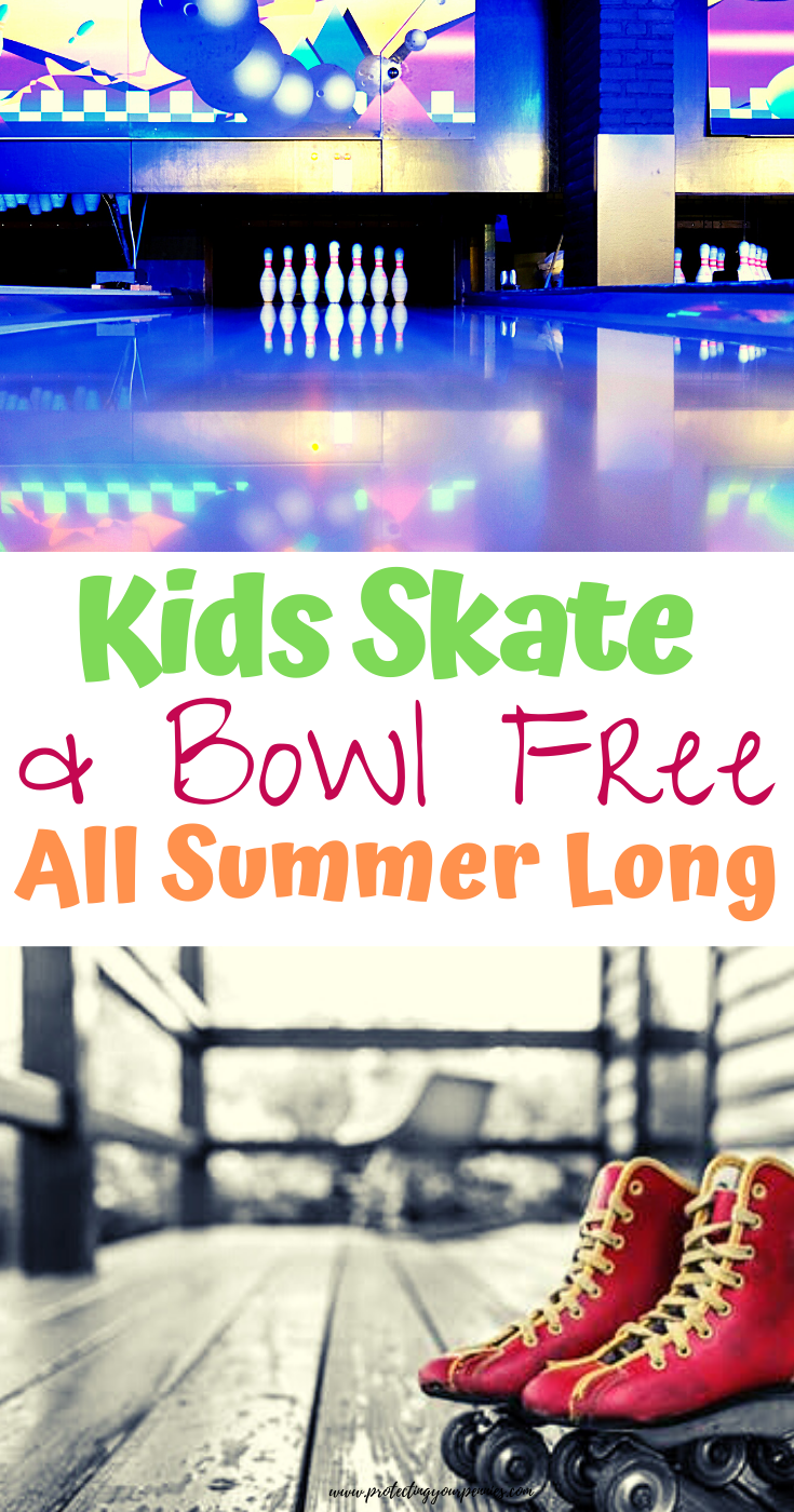Kids Skate and Bowl Free All Summer