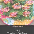 Protein packed low carb keto THM S Salad