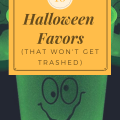 Sixteen Halloween Favors that won't get trashed non-candy