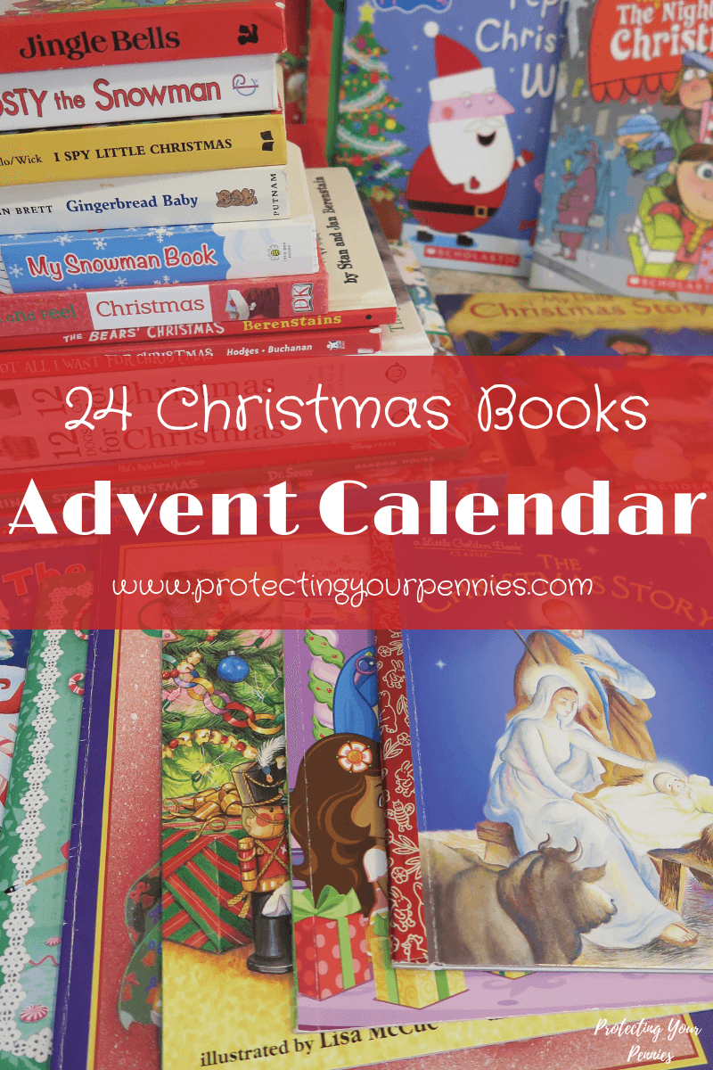 24 Days of Christmas Books Tradition Advent Calendar - Easy Holiday Tradition for Kids - Educational Christmas Activity for Kids to Countdown Christmas in December