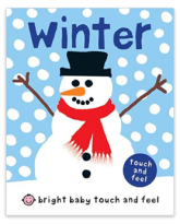 Winter Touch & Feel Book Stocking Stuffer for Baby