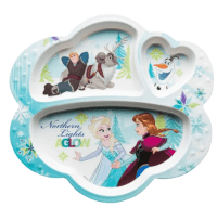 ZAK Frozen Divided Kids Plate