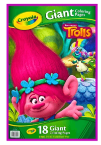 troll giant coloring pages