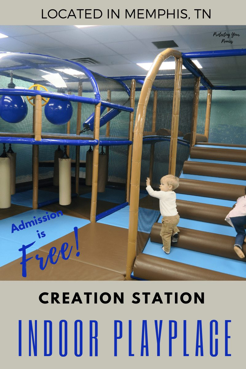 Creation Station Indoor Playplace Located in Memphis TN with Free Admission-min