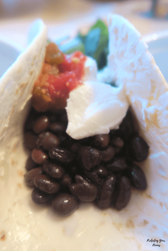 Black Bean Tacos for Low Fat Healthy Carb E Meal on Trim Healthy Mama