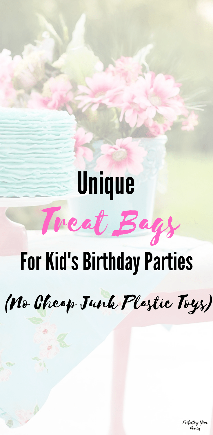 Unique Party Favors for Kids Treat Bags - Birthday Party Treats without Cheap junk Fillers