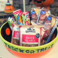 Trick Or Treat Bowl With Healthier Snack Options