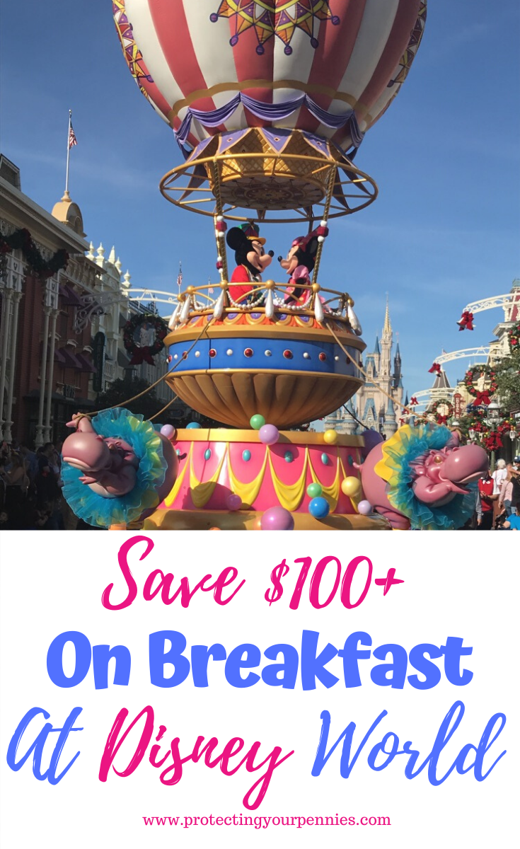 Save on Breakfast at Disney World Resorts