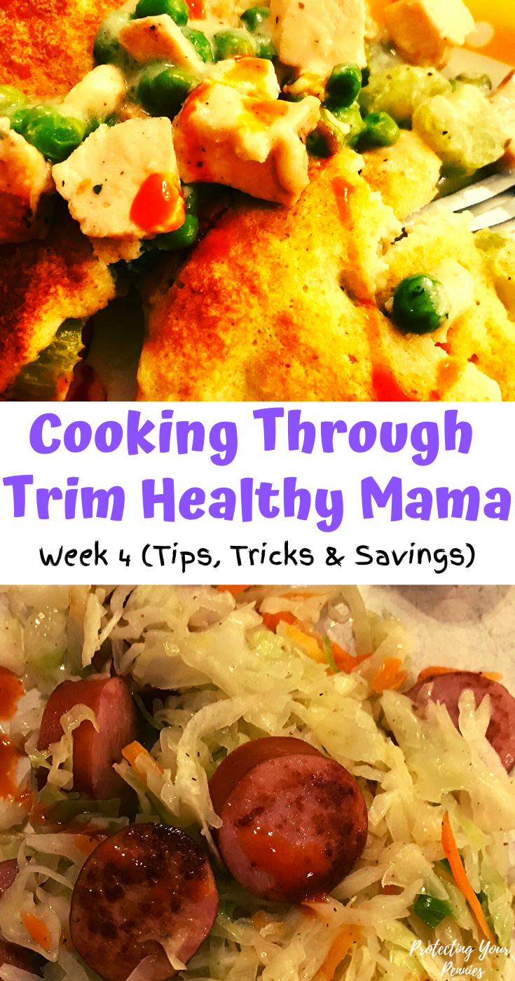 Cooking Through Trim Healthy Mama Week 4