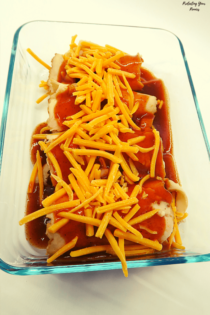 THM S Keto Low Carb Enchiladas Ready to Bake