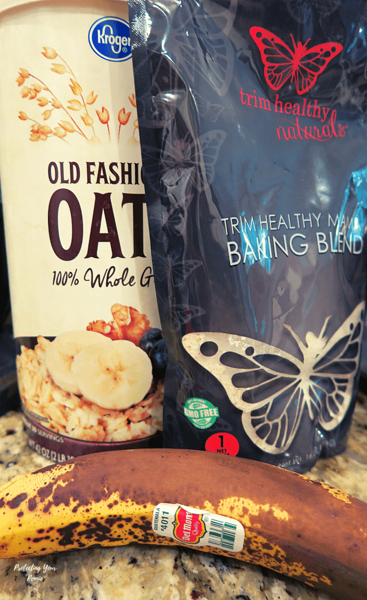 Baking Blend - Oats - Banana (1)