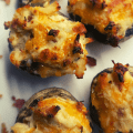 Crack Chicken Stuffed Mushrooms - A Keto Low Carb Appetizer