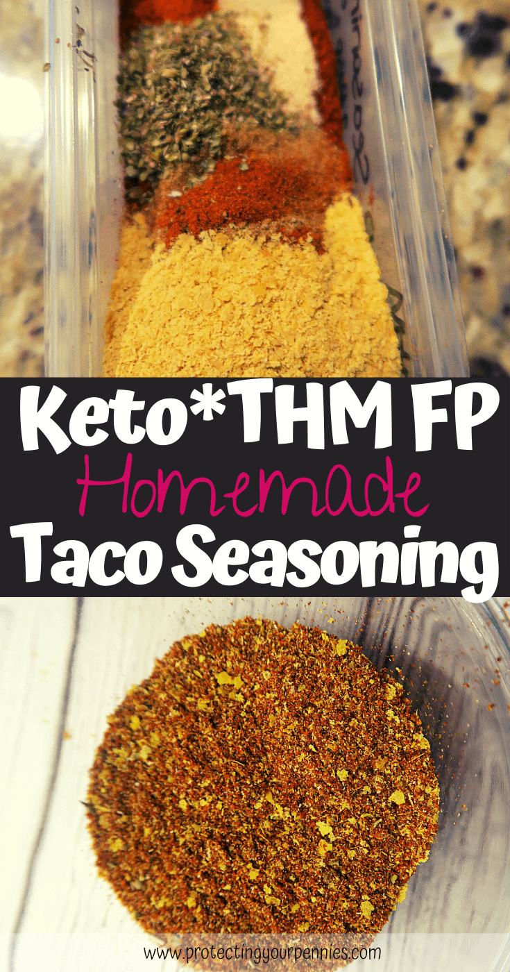 Keto & THM FP Homemade Taco Seasoning (1)