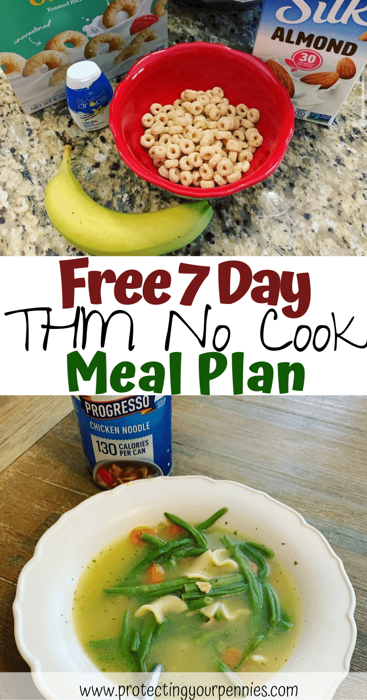 Free 7 Day THM No Cook Meal Plan