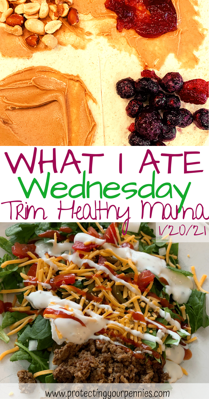 1-20-21 What I Ate Wednesday - Trim Healthy Mama