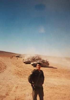 In the Negev desert.