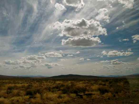 Public Land and Desert Sky (Photo © Anne Novak, all rights reserved.)