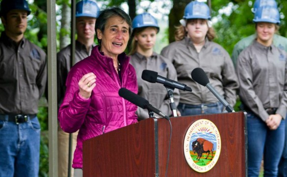 Secretary Sally Jewell Photo by BLM