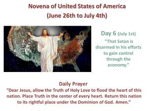 Novena of USA Day 6