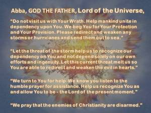 Lord of the Universe Against Storms Holy Love