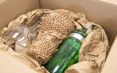 Which type of packaging is biodegradable?