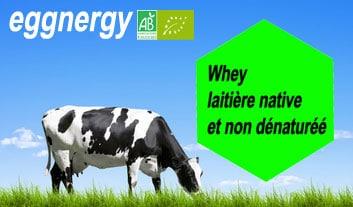 Whey bio laitière native et non dénaturée